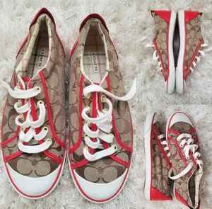 COACH SIGNATURE SNEAKERS SIZE 7.5